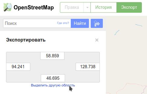 Статическая OSM карта на python